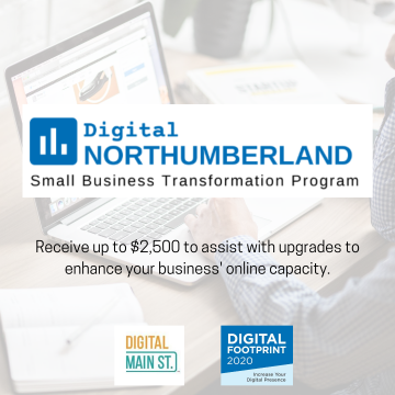 Graphic for Digital Northumberland program