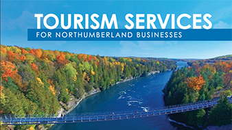 Tourism Services Booklet cover graphics