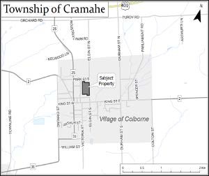 Map of property location in the Township of Cramahe
